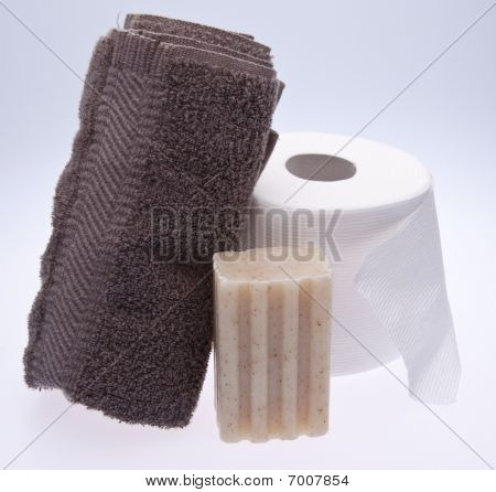 Soap And Towel For Houseguests