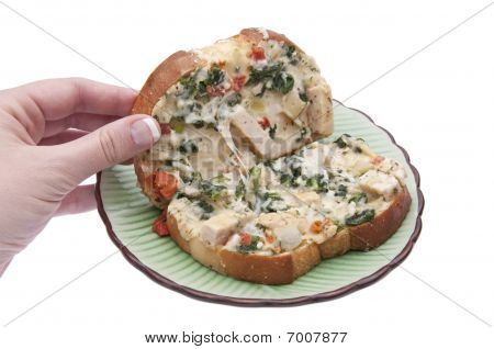 Open Panini Sandwich