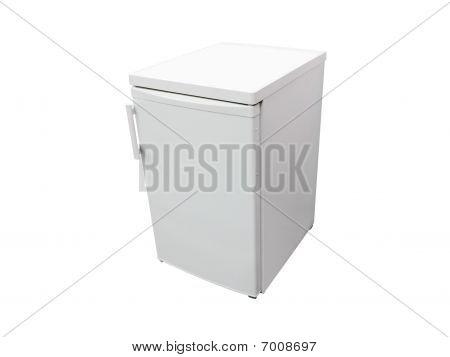 Small Dark Grey Refrigerator