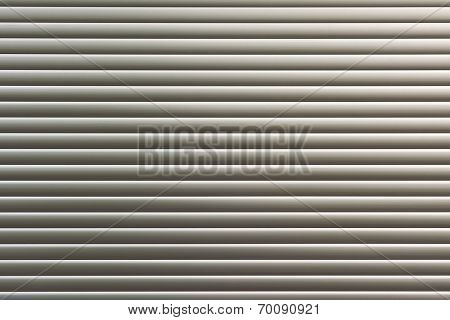 Background texture of sliver metal door.