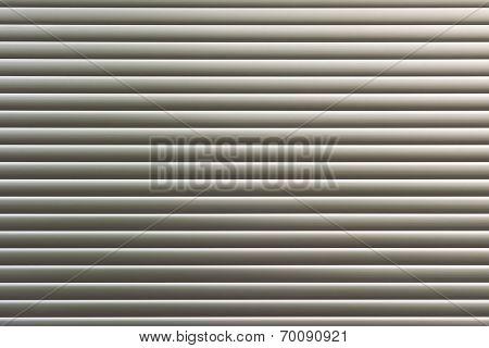 Background texture of sliver metal door.