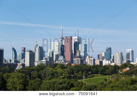 Toronto From The East