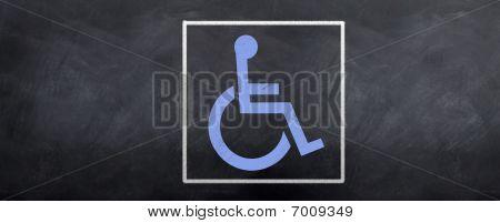Blue Acess Symbol