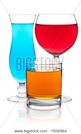 Many Color Cocktails