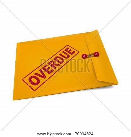 Overdue On Manila Envelope