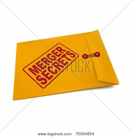 Merger Secrets On Manila Envelope