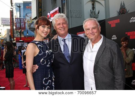 LOS ANGELES - AUG 13:  Olga Kurylenko, Roger Donaldson, Bill Smitrovich at