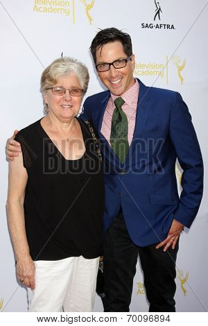LOS ANGELES - AUG 12:  Myriam Bucatinsky, Dan Bucatinsky at the Dynamic & Diverse:  A 66th Emmy Awards Celebration of Diversity Event at Television Academy on August 12, 2014 in North Hollywood, CA