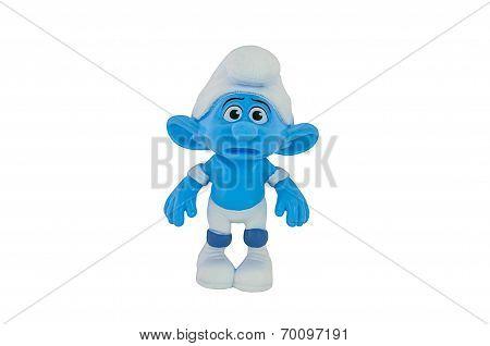 Panicky Smurf