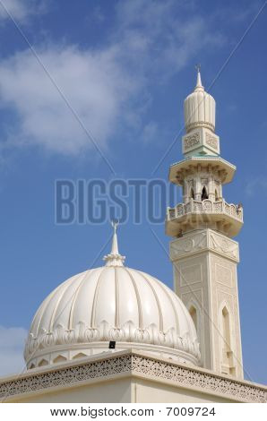 Beautiful Mosque In Sharjah City