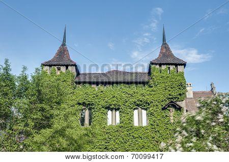 Lichtenstein Castle In Baden-wurttemberg, Germany