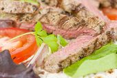 picture of cheese-steak  - Grilled Beef Wraps  - JPG