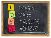picture of execution  - idea acronym  - JPG
