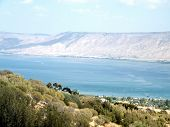 picture of golan-heights  - Blue Sea of  - JPG