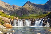 picture of chute  - The beautiful Fairy Pools on the Isle of Skye - JPG