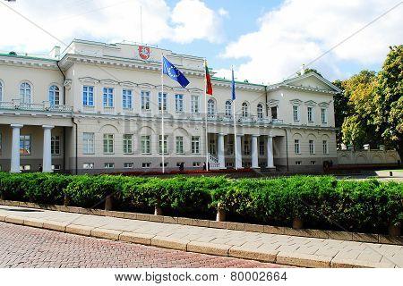 Lithuanian President Residence On September 24, 2014