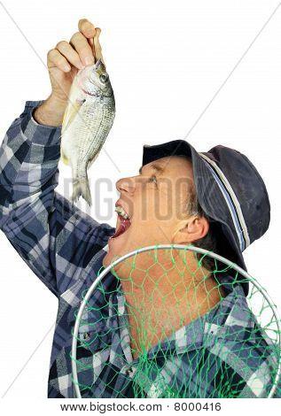 Comer peixe pescador