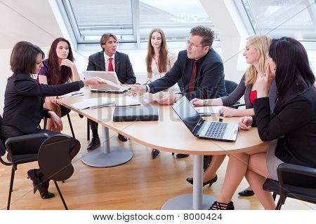 Big Business-meeting