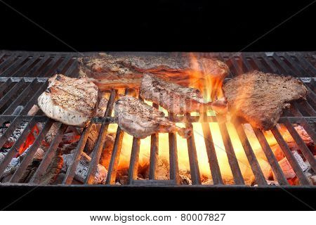 Grilled Mixed Meat.