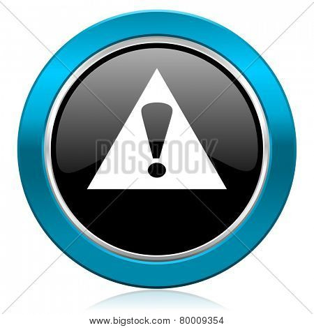 exclamation sign glossy icon warning sign alert symbol