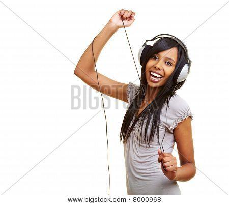 Dancing African Girl