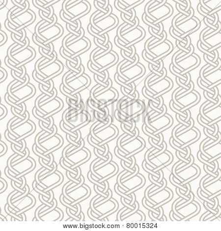 Tangled Knitted Pattern