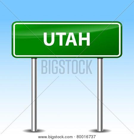 Utah Green Sign