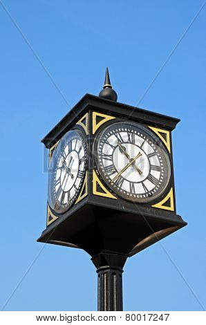 Stafford town clock.