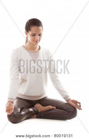 Yoga Asana Sukhasana