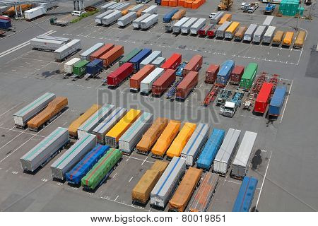 Seaport Containers