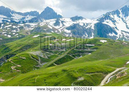 Mountain bike slope