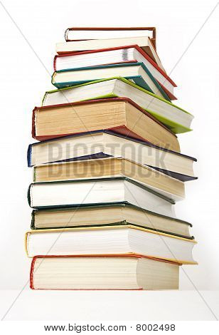 Stack Of Books Hard Cover