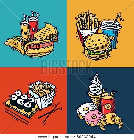 Fast Food Design Concept