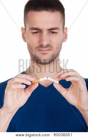 No More Smoking.