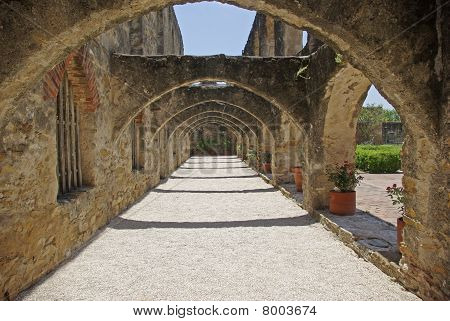 Mission San Jose - Arches