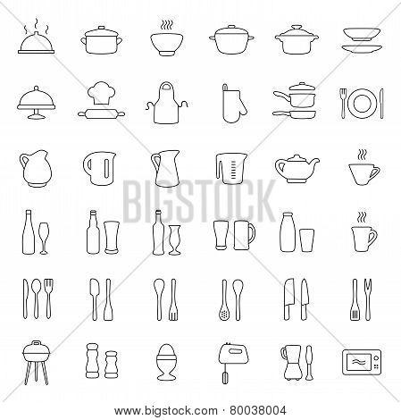 kitchen icons,