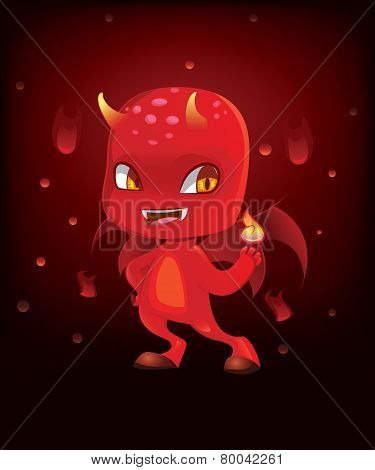 Cute Scary Devil