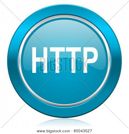 http blue icon
