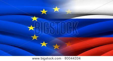 EU and Russia.