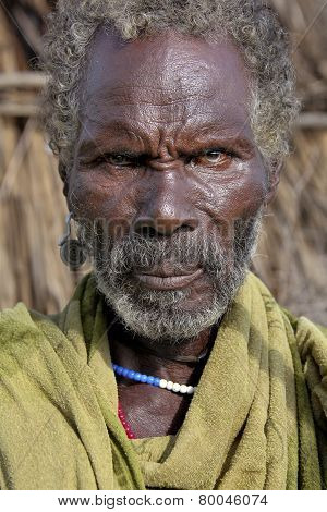 Portrait Of The African Man.