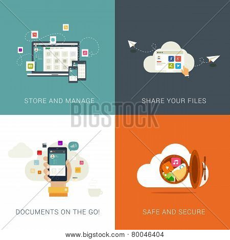 Cloud Services and File Management.