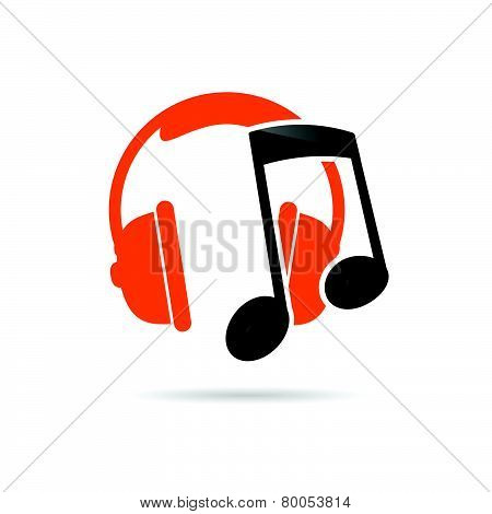 Headphone Music Color Vector