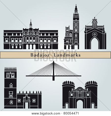 Badajoz Landmarks And Monuments