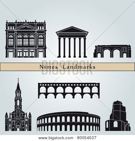 Nimes Landmarks And Monuments