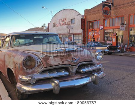 An Old Rusted Classic Dodge, Lowell, Arizona