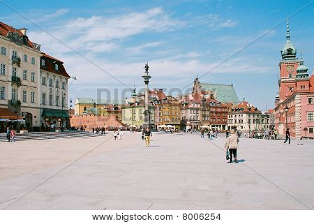 Royal Castle Square, Warsaw