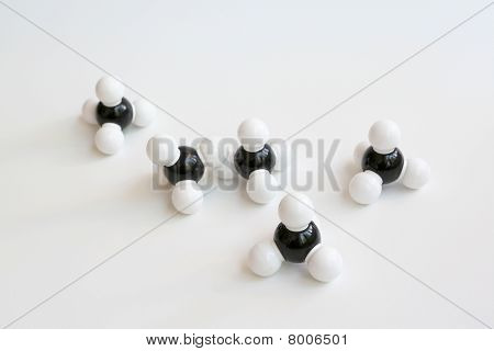 Methane Molecules