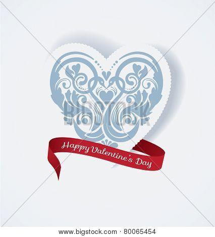 Valentines Heart. Vector illustration