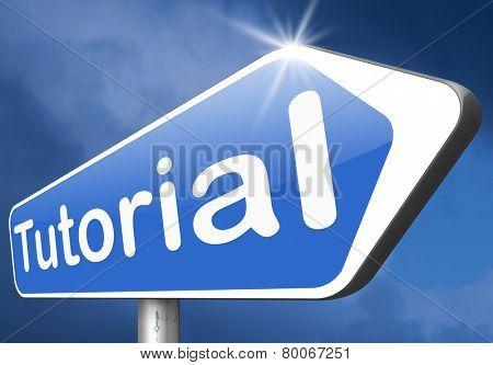 tutorial video class learn online elearning
