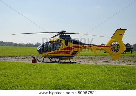 Helicopter ambulance